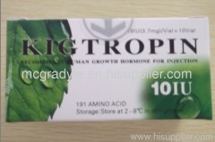 Kingtropin hgh 100iu bodybuilding 191AA quality