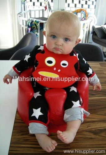 Animal Design Silicone Baby Bibs