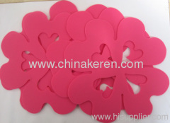 Silicone flexible dining mat