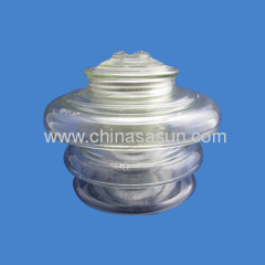 pin glass insulator china
