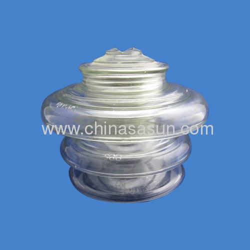 pin glass insulator china