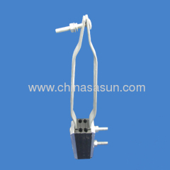 Aluminium and plastic Tension Clamp