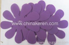 fashione silicone purple flexible