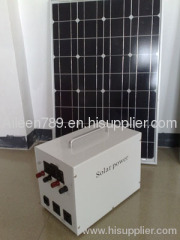 50W Portable Solar System for Home Use