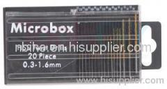 20pcs Mini HSS Drill Se