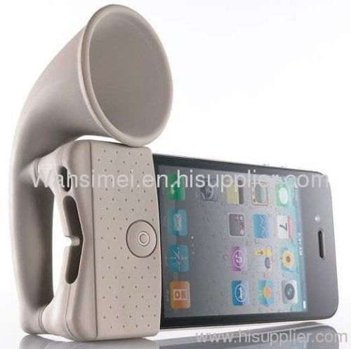 silicone iphone music amplifier