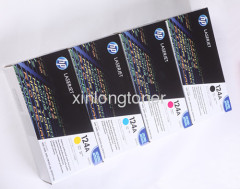 HP Q6000A-Q6003A original color toner cartridge