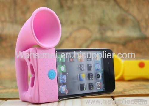 for iphone5 silicone speaker