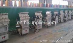 super flat +cording embroidery machine zhuji jinyu
