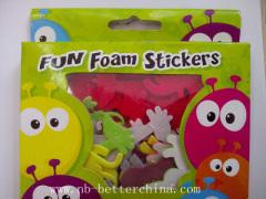 fun foam sticker