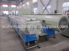 plastic PVC PE PPR ABS pipe vacuum forming machine