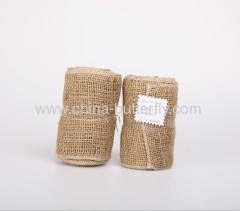 Jute rolls for protecting the trees