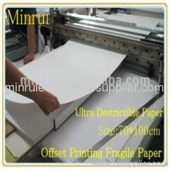 Manufacturer of ultra destructible vinyl materials from Minrui,the biggest factory for ultra destructive vinyl