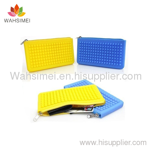 2012 New style silicone wallet for ladies