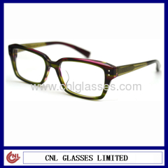 Top quality plastic reading glasses eyewear optical frame