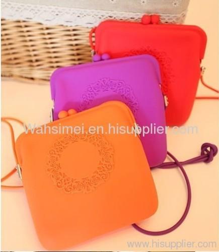 silicone handbags for girl