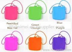 fashion silicone handbag for girl