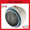 Desk Fan Heater/2 Heat Settings/Power Indicator Light/Adjustable Thermostat/1000W/2000W