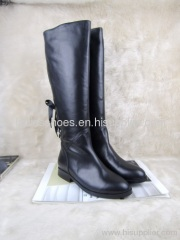 Fashion Leather Winter Snow Boots