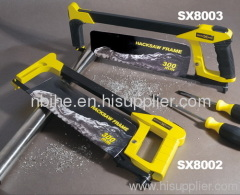"12"" Adjustable Hacksaw Frame with soft handle"