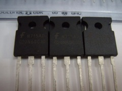 Fairchild HGTG20N60C3D UFS Series N-Channel IGBT