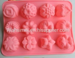 any shape hot sell silicone cake moulds