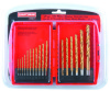 CRAFTSMAN 17Pcs titanium hss drill bit set plastic case