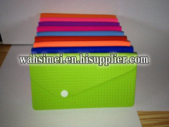Colourful rectangle silicon lady purse handbag
