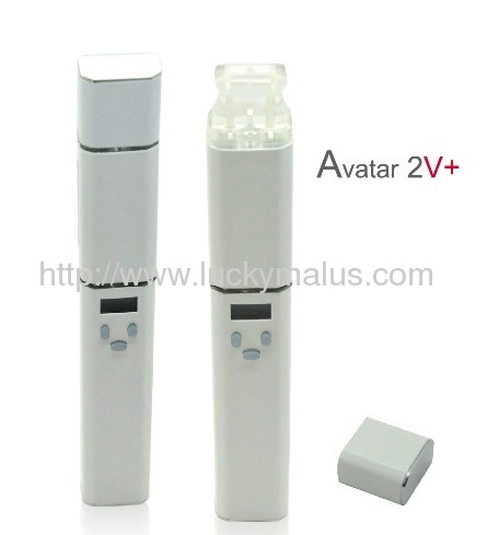 ... chamber Electronic cigarette, double atomizing chamber Electronic