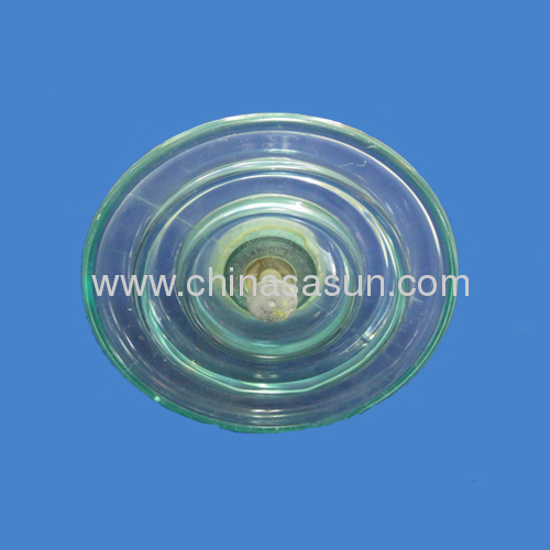 70KN Pin Type Glass Insulators china