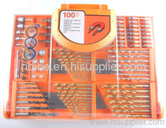 100pc mix Power Drill Bit Set