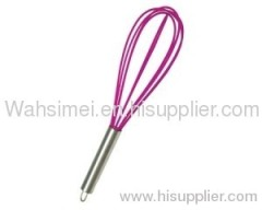 Hot sell soft silicone whisk for cooking