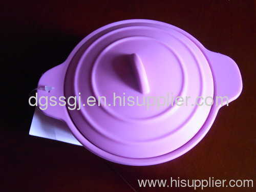 silicon bowl with lid