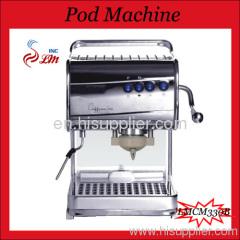 Pod Machine with Steam Nozzle