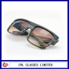 unisex brown stripe large square acetate frame with reliable quality assurance