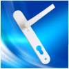pvc double sided door handle with lock #3