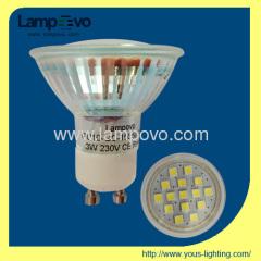 LED SPOTLIGHT 3W SMD GU10