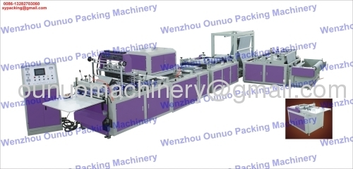 Zipper lock bag machines