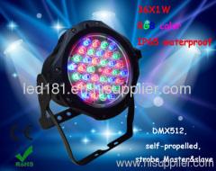 waterproof led par 64 outdoor led par light