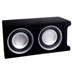 Car Audio Carpet Box With Amplifier And Subwoofer