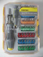 WORKFORCE Portable 53pc Electronic Tool Precision Screwdriver Set