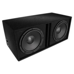 High power dual car speaker boxes