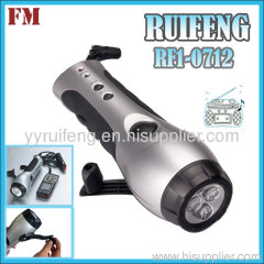 Torch With Radio and phone charger