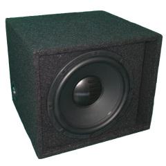 High power single car speaker boxes