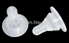 Silicon infant nipple hot sell