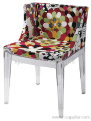foam seat with acrylic frame