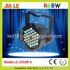 led par 64 rgbw dmx stage lighting dmx led par
