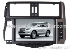 Supply 8 inch special car DVD player for Toyota Prado 2011 screen and headunit