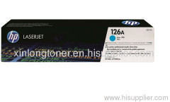 Original Cyan Toner Cartridge for HP 126A