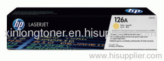 Original Yellow Toner Cartridge for HP 126A